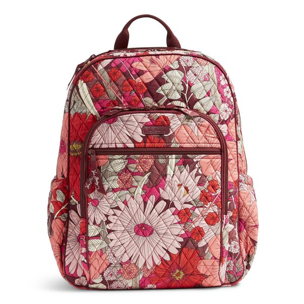 Vera Bradley Campus Tech Backpack in Bohemian Blooms