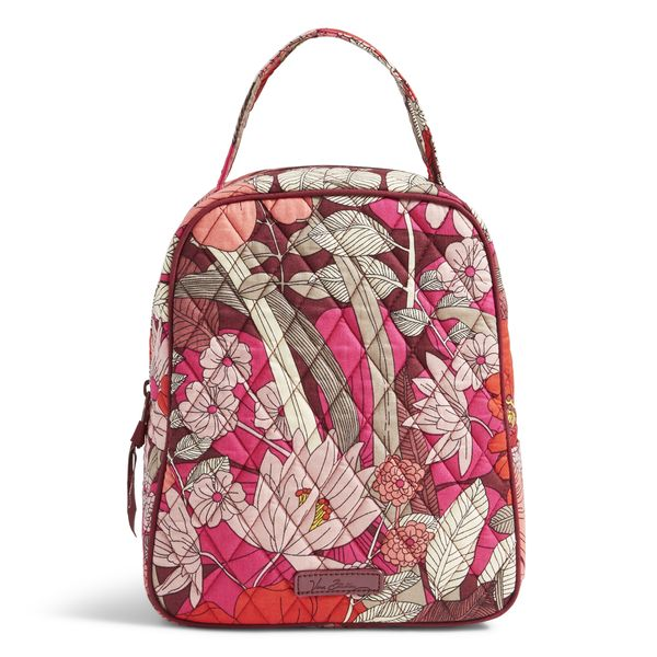 Vera Bradley Lunch Bunch Bag in Bohemian Blooms