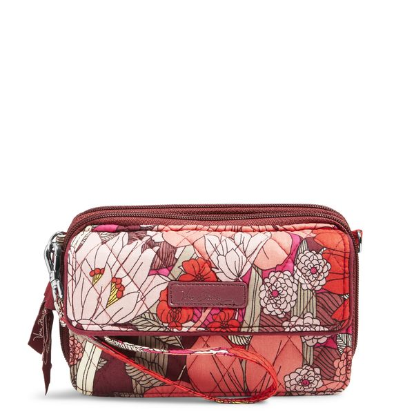 Vera Bradley All in One Crossbody and Wristlet for iPhone 6+ in Bohemian Blooms