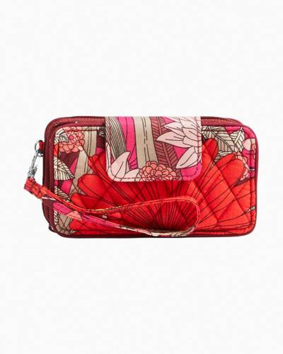 Smartphone Wristlet for iPhone 6 in Bohemian Blooms