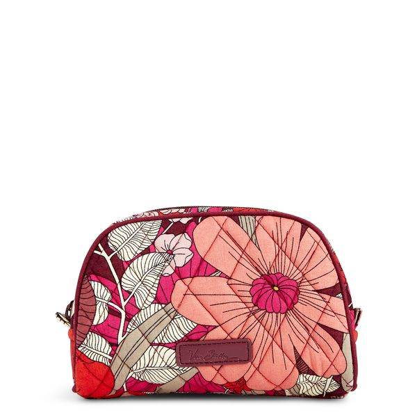 Vera Bradley Small Zip Cosmetic in Bohemian Blooms