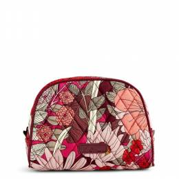 Vera Bradley Medium Zip Cosmetic in Bohemian Blooms
