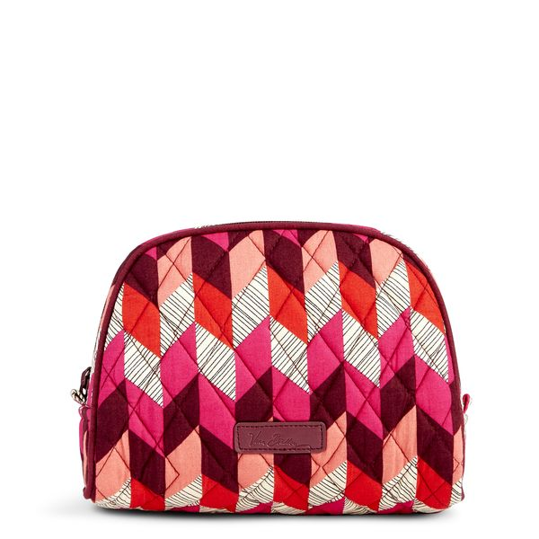 Vera Bradley Medium Zip Cosmetic in Bohemian Chevron