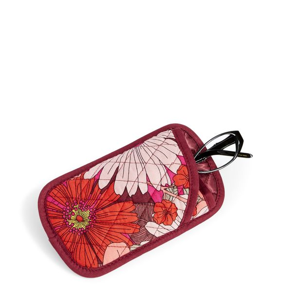 Vera Bradley Double Eye Case in Bohemian Blooms