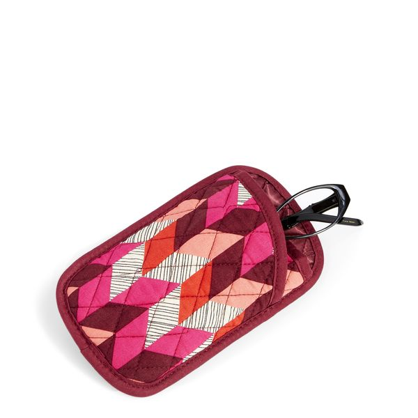 Vera Bradley Double Eye Case in Bohemian Chevron