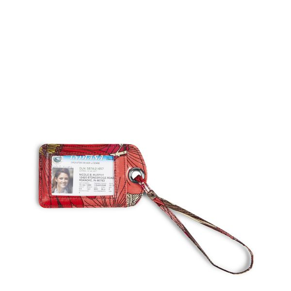 Vera Bradley Luggage Tag in Bohemian Blooms