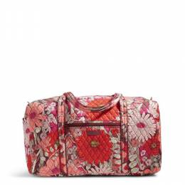 Vera Bradley Large Duffel Travel Bag in Bohemian Blooms