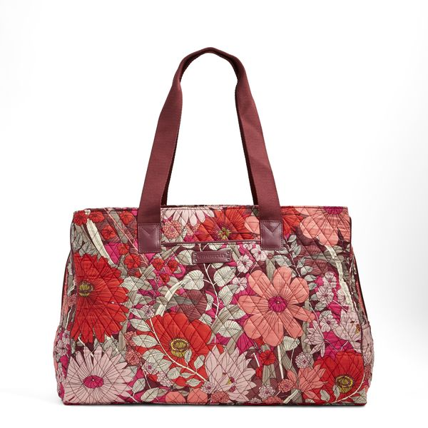 Vera Bradley Triple Compartment Travel Bag in Bohemian Blooms