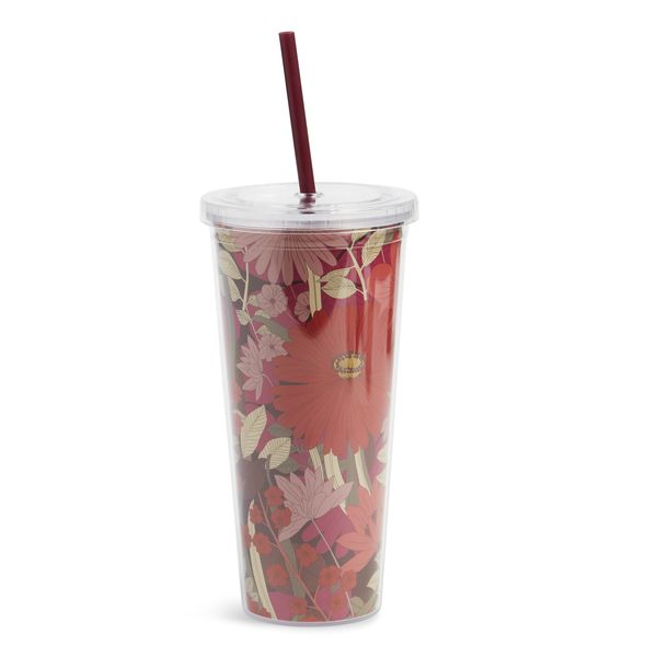 Vera Bradley Travel Tumbler in Bohemian Blooms