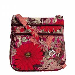 Vera Bradley Keep Charged Triple Zip Hipster in Bohemian Blooms