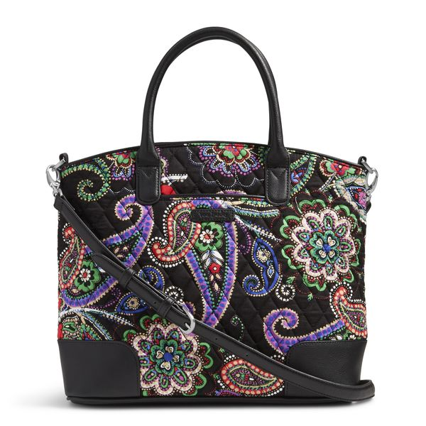 Vera Bradley Day Off Satchel in Kiev Paisley