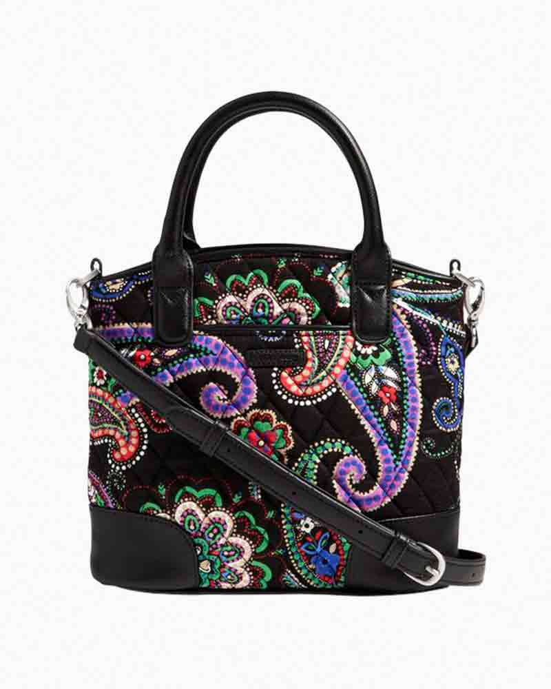 Vera Bradley Day Off Crossbody Bag in Kiev Paisley