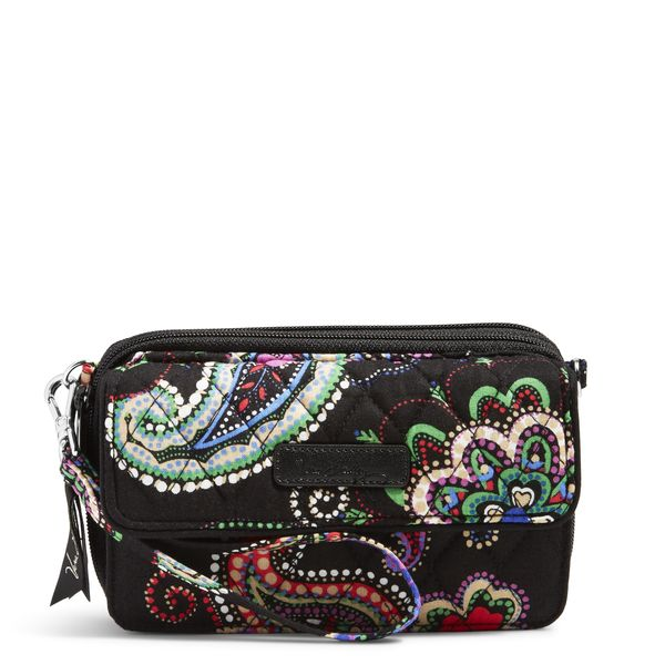 Vera Bradley All in One Crossbody and Wristlet for iPhone 6+ in Kiev Paisley