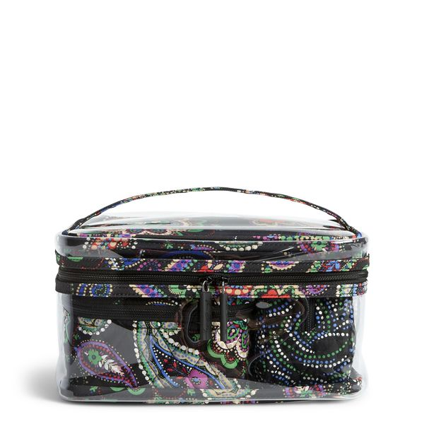 Vera Bradley Travel Cosmetic Set in Kiev Paisley