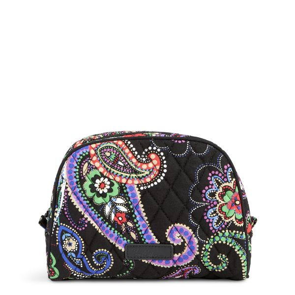 Vera Bradley Medium Zip Cosmetic in Kiev Paisley