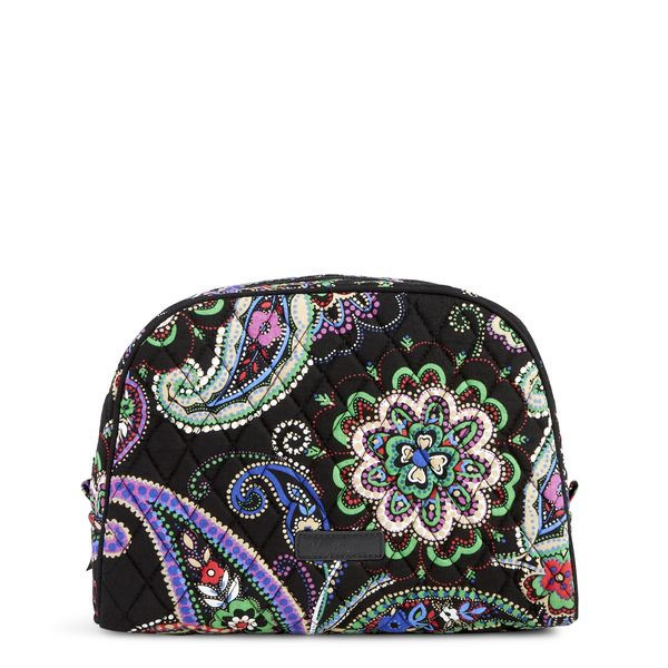 Vera Bradley Large Zip Cosmetic in Kiev Paisley