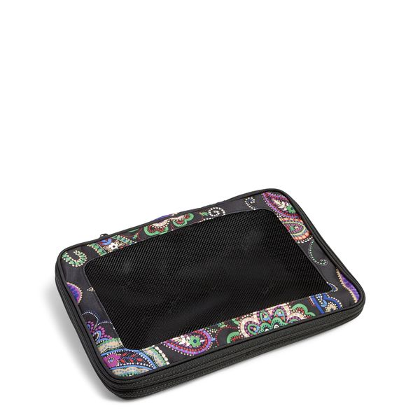 Vera Bradley Medium Expandable Packing Cube in Kiev Paisley