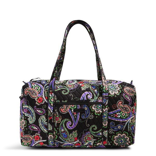 Vera Bradley Large Duffel Travel Bag in Kiev Paisley