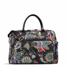 Vera Bradley Lighten Up Weekender in Kiev Paisley