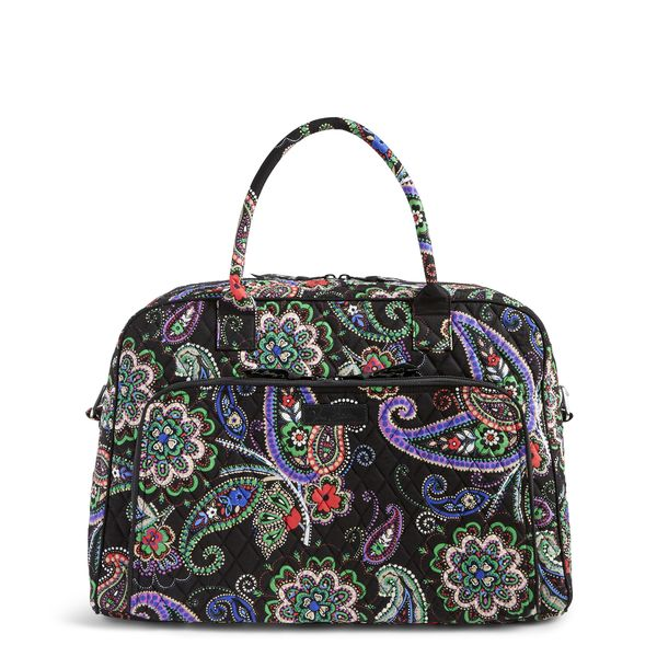 Vera Bradley Weekender Travel Bag in Kiev Paisley
