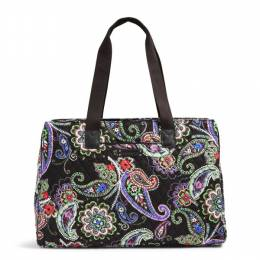 Vera Bradley Triple Compartment Travel Bag in Kiev Paisley