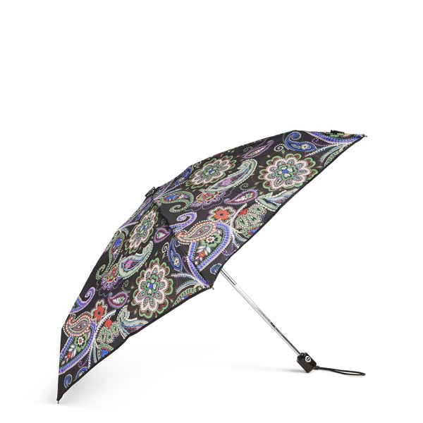 Vera Bradley Automatic Mini Umbrella in Kiev Paisley