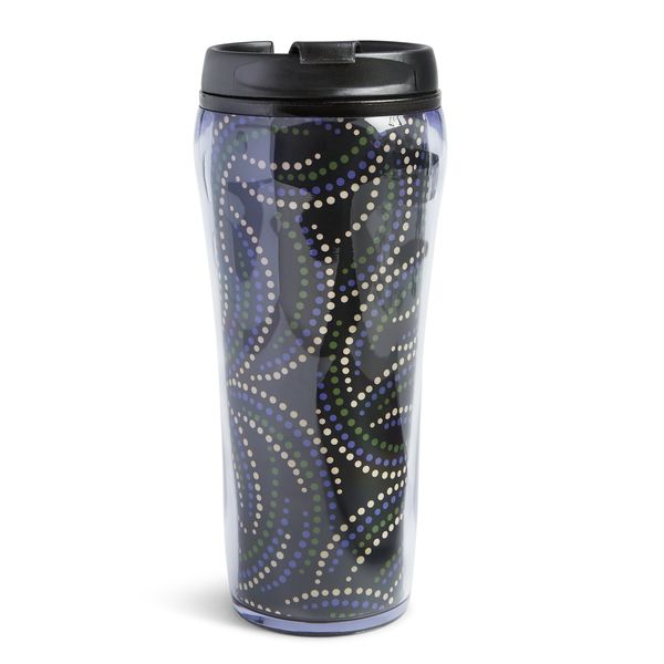 Vera Bradley Travel Mug in Kiev Swirls