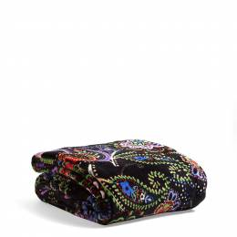 Vera Bradley Cozy Throw Blanket in Kiev Paisley