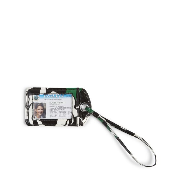 Vera Bradley Luggage Tag in Imperial Rose