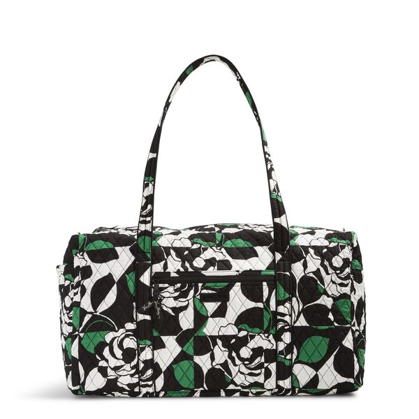 Vera Bradley Large Duffel Travel Bag in Imperial Rose