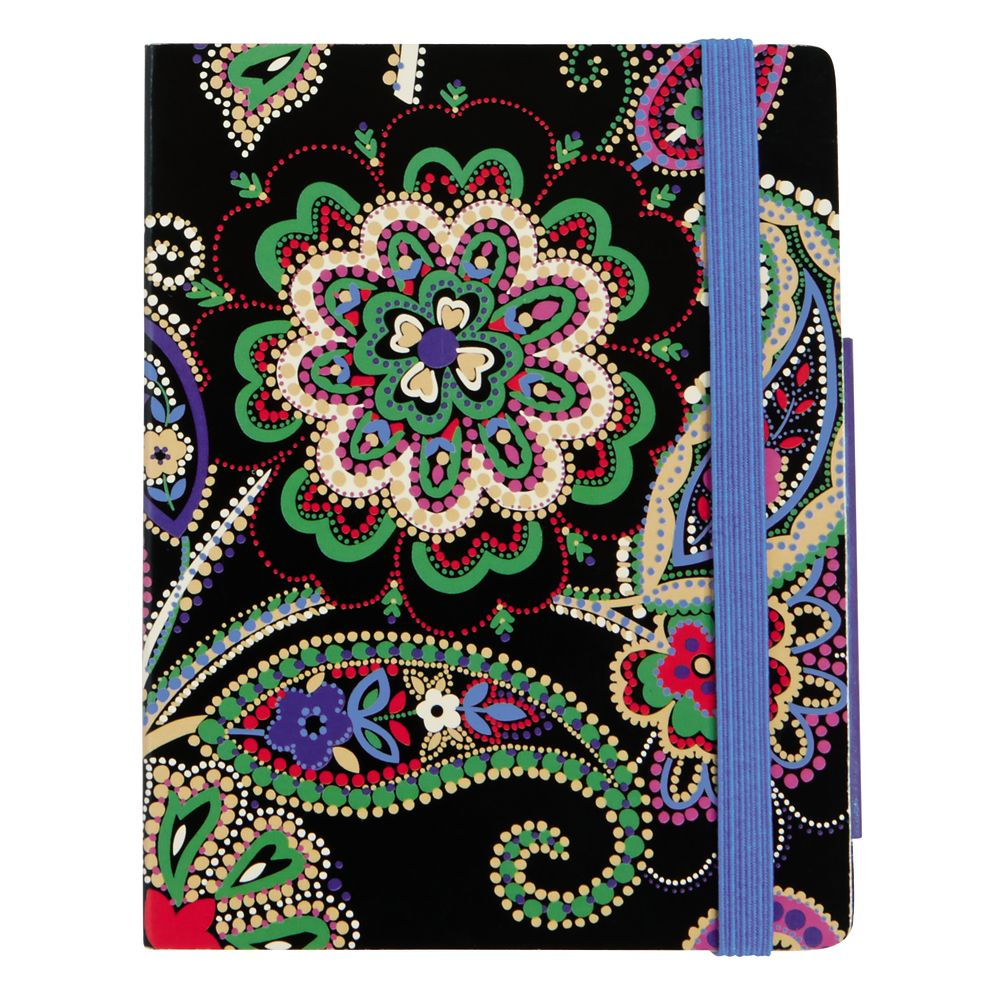 Vera Bradley Pocket Note Set in Kiev Paisley