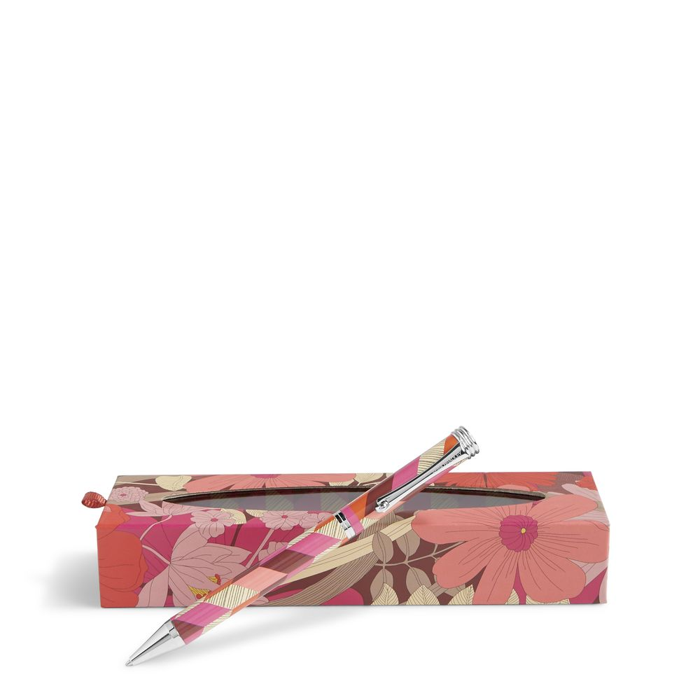 Vera Bradley Ball Point Pen in Bohemian Blooms