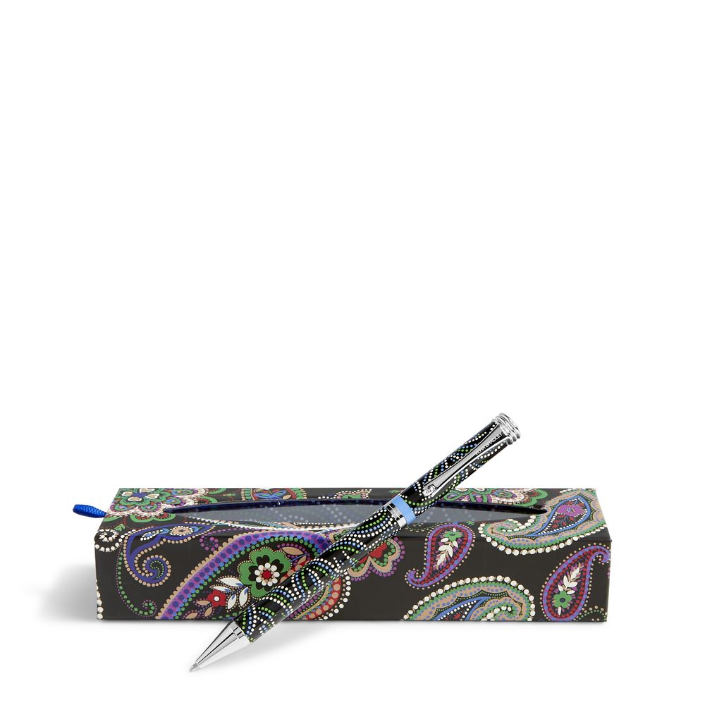 Vera Bradley Ball Point Pen in Kiev Paisley