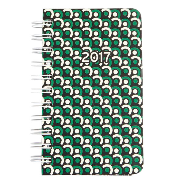 Vera Bradley Mini Agenda in Imperial Tile