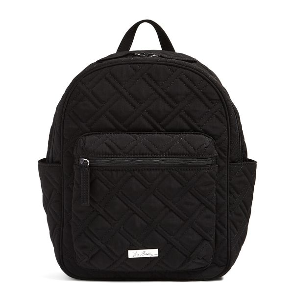 Vera Bradley Leighton Backpack in Classic Black
