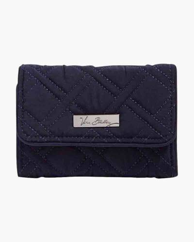 Riley Compact Wallet in Navy