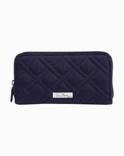 RFID Georgia Wallet in Navy