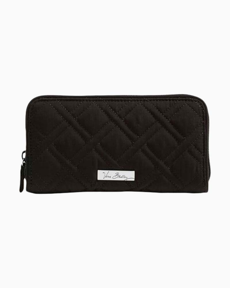 Vera Bradley RFID Georgia Wallet in Classic Black