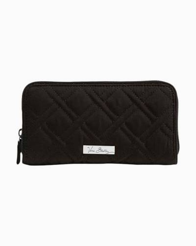 RFID Georgia Wallet in Classic Black