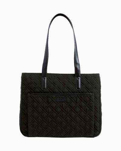 Commuter Tote in Classic Black with Black