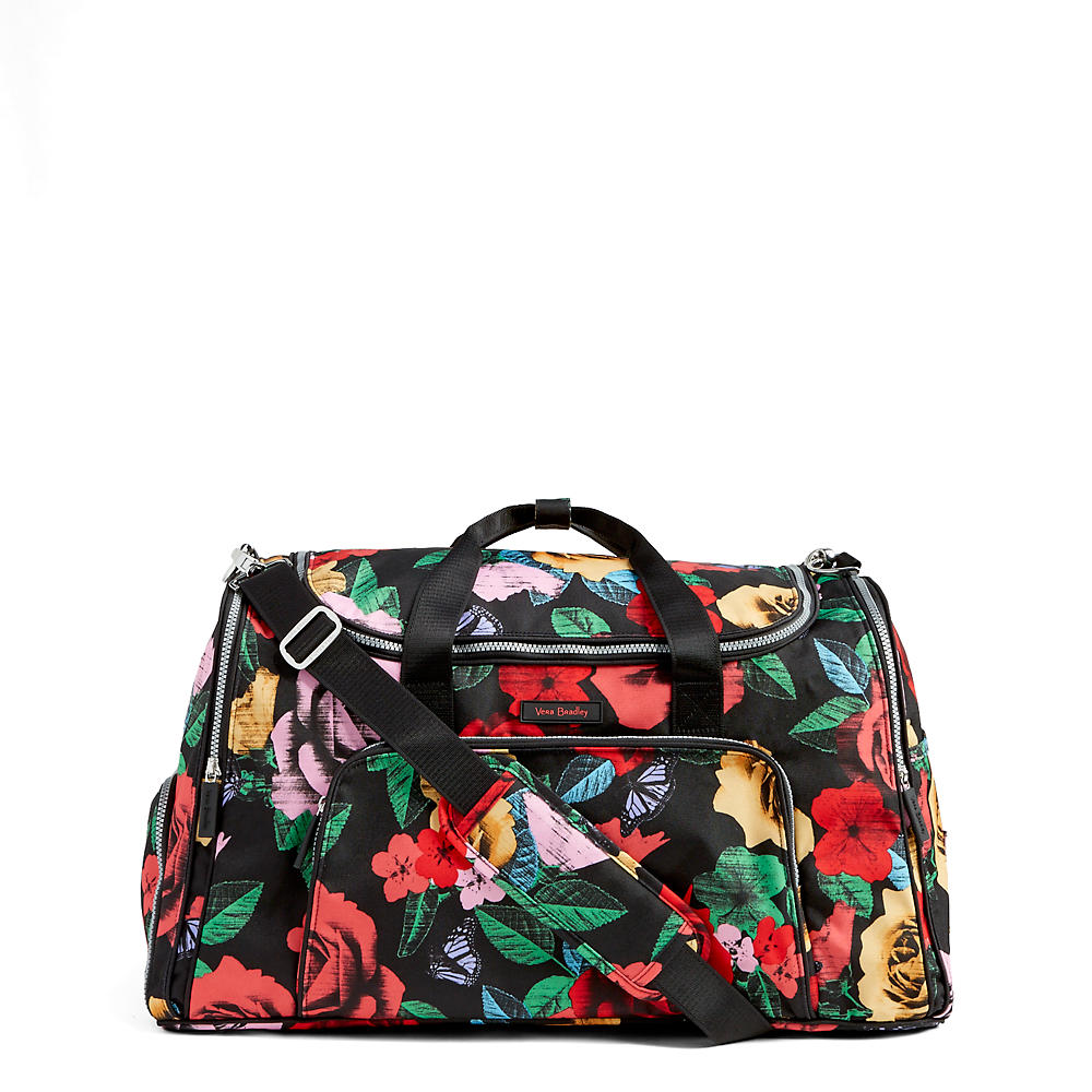 3678c9edda Vera Bradley Lighten Up Ultimate Gym Bag in Havana Rose