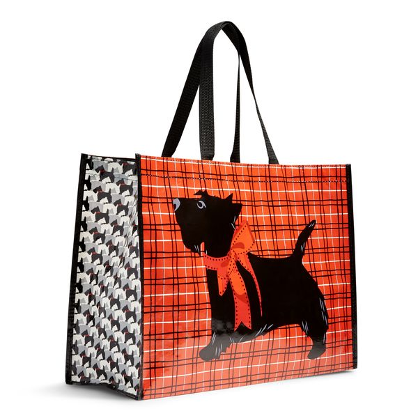 Vera Bradley Market Tote in Scottie Dogs