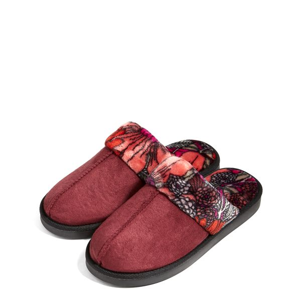 Vera Bradley Cozy Slippers in Bohemian Blooms (Medium)