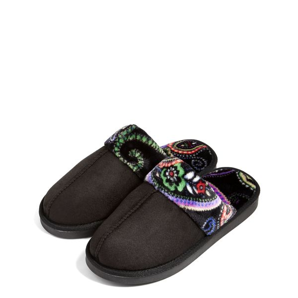Vera Bradley Cozy Slippers in Kiev Paisley