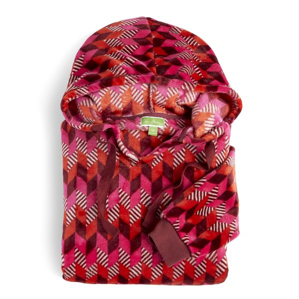Vera Bradley Fleece Hoodie in Bohemian Chevron