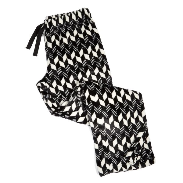 Vera Bradley Fleece Pajama Pants in Imperial Chevron