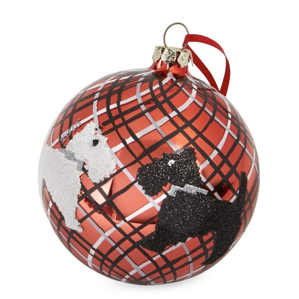 Vera Bradley Ornament in Scottie Dogs