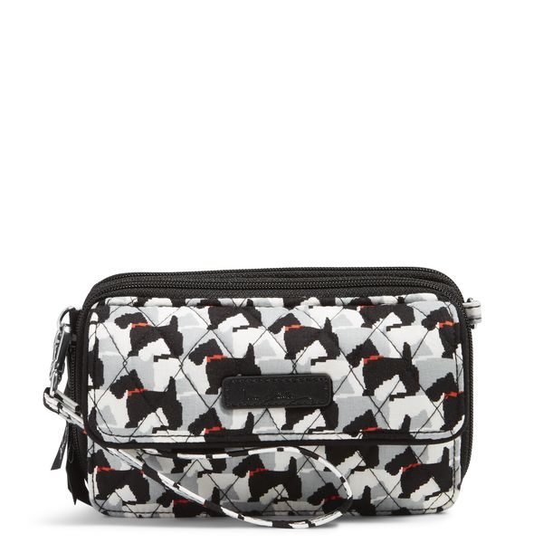 Vera Bradley All in One Crossbody and Wristlet for iPhone 6+ in Scottie dogs