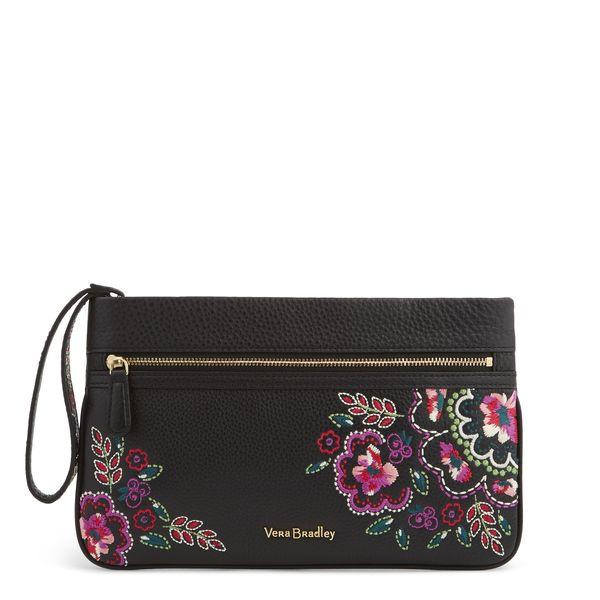 Vera Bradley Mia Wristlet in Kiev Needlecraft