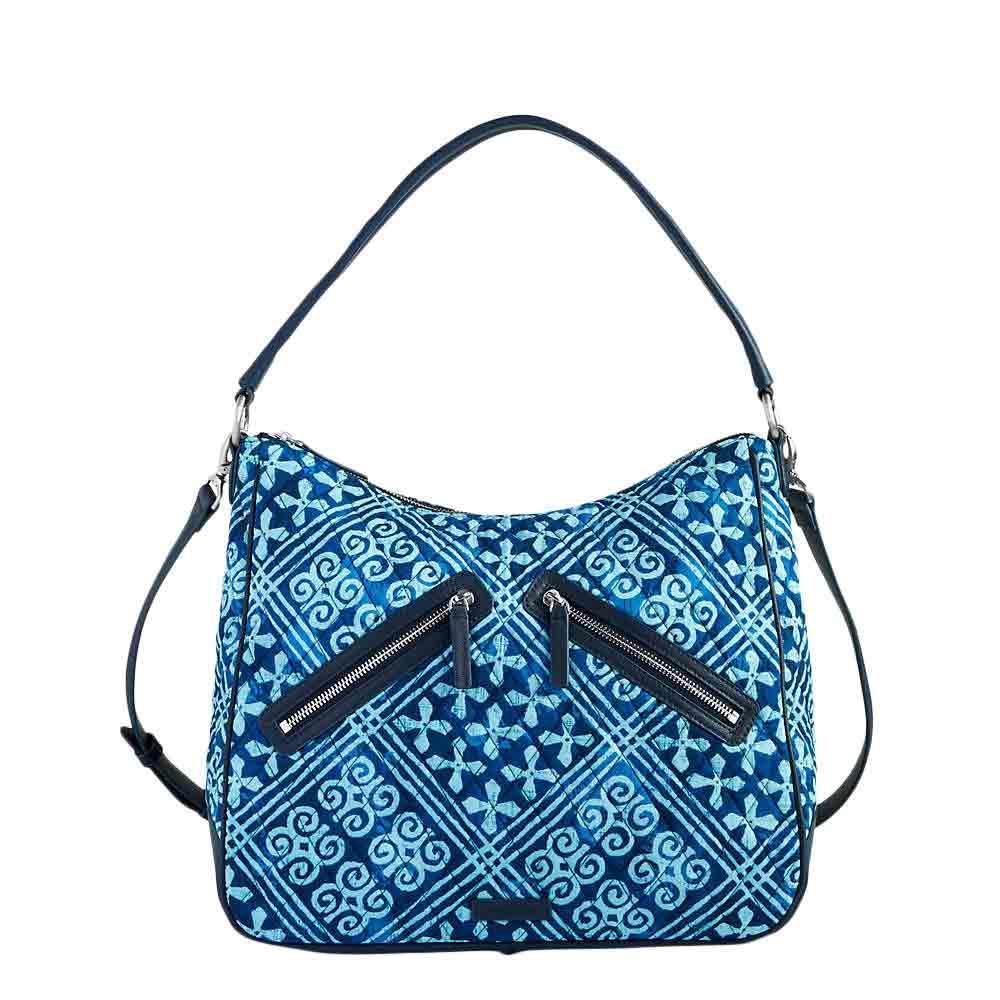 Vera Bradley Vivian Hobo Bag in Cuban Tiles